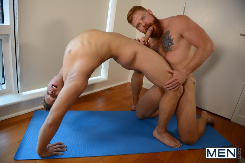 image Erotic gay men having brutal sex the man