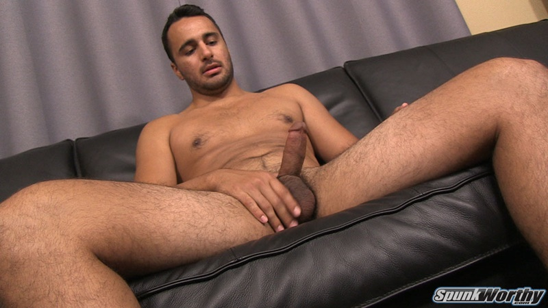 Male masturbation spunk