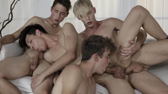 Hot foursome heady sex 4