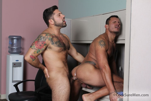 cocksuremen Alessandro Del Toro and Angelo Marconi