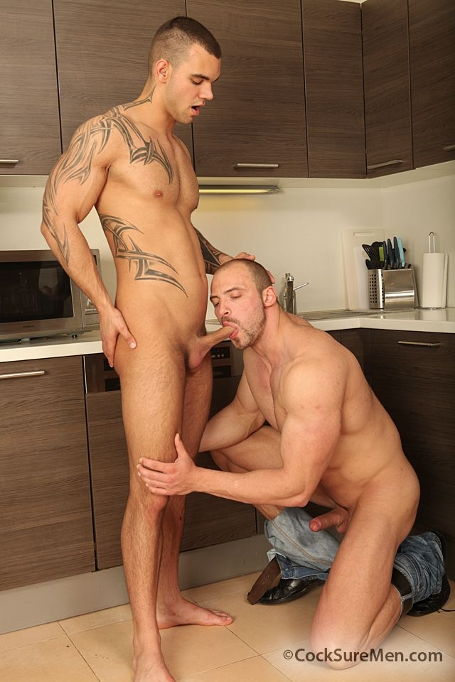cocksuremen  Thomas Ride and Ivo Kerk