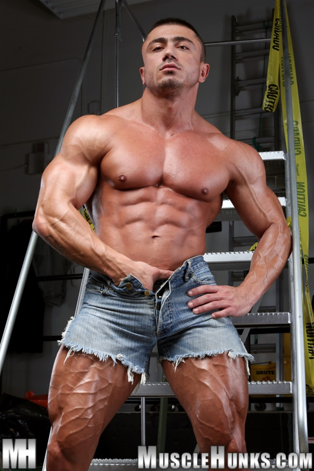 from Micah gay cock muscle hunk vid alex