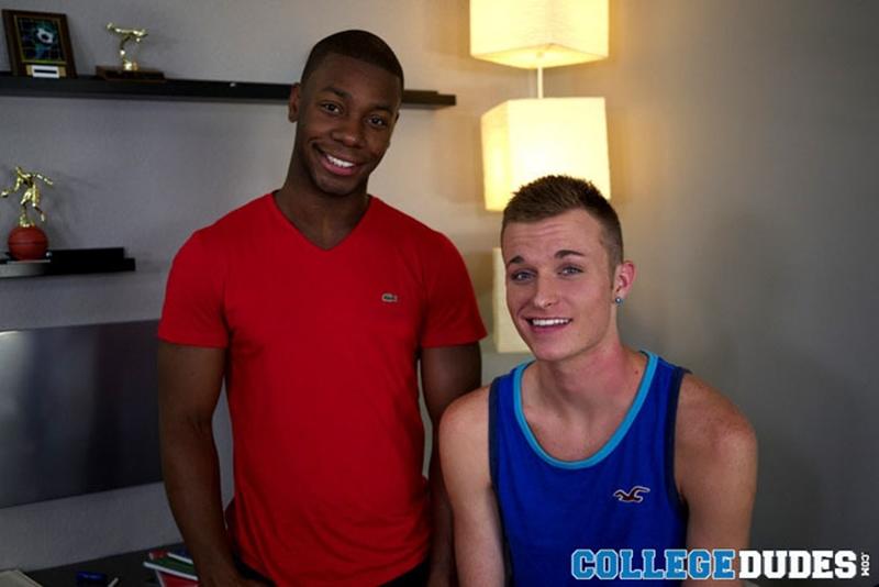 college dudes  Dante Monroe and Taylor Blaise