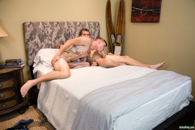 Men for Men Blog ActiveDuty-Ryan-Jordan-huge-cock-fucking-Elye-Black-tight-smooth-asshole-anal-rimjob-army-boy-cocksucker-006-gay-porn-pictures-gallery Ryan Jordan moans with pleasure as his huge cock splits Elye Black's tight smooth asshole Active Duty