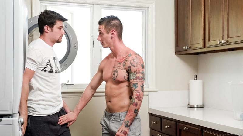 Men for Men Blog Mason-Williams-Lance-Ford-straight-roomie-sniffing-dirty-underwear-jerking-big-dick-NextDoorStudios-006-gay-porn-pictures-gallery Mason Williams catches straight roomie Lance Ford sniffing his dirty underwear whilst jerking his big dick Next Door World