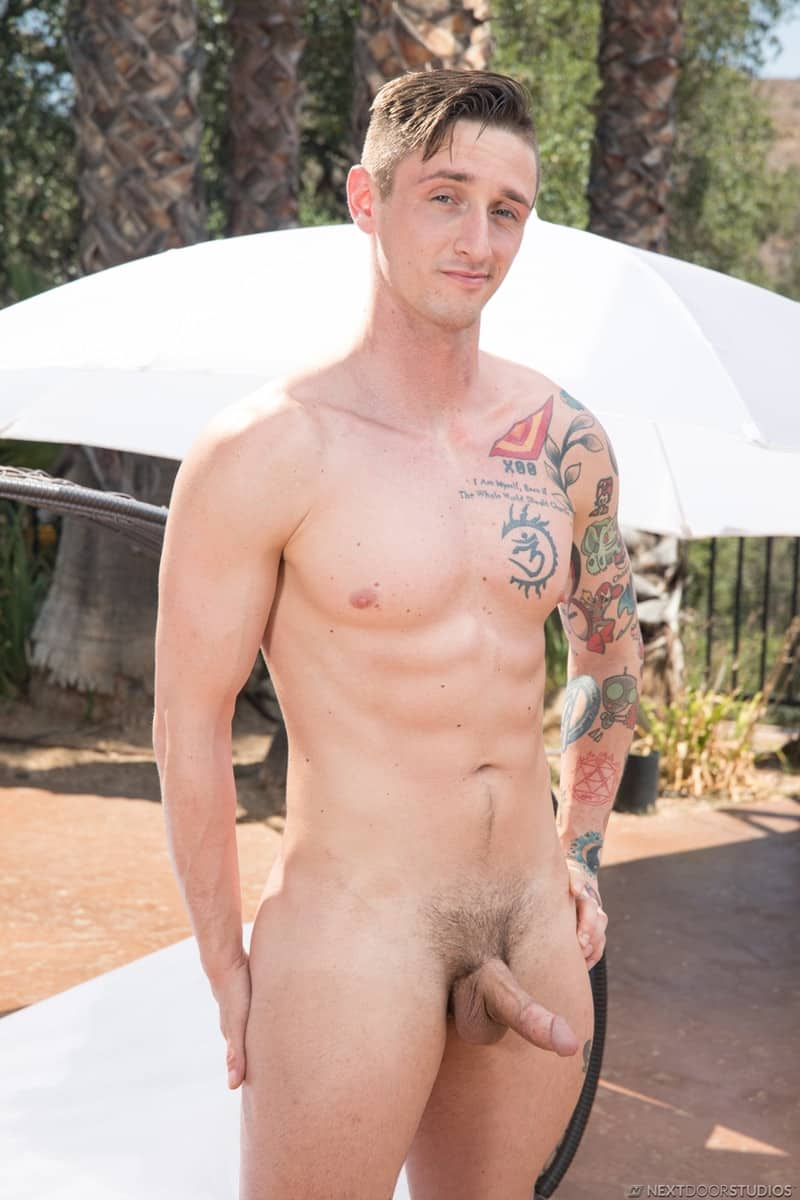 Men for Men Blog Lance-Ford-Vince-Michaels-Hot-muscle-dude-huge-raw-cock-NextDoorBuddies-003-gay-porn-pictures-gallery Hot muscle dude Lance Ford takes the full length of Vince Michaels' huge raw cock Next Door Buddies