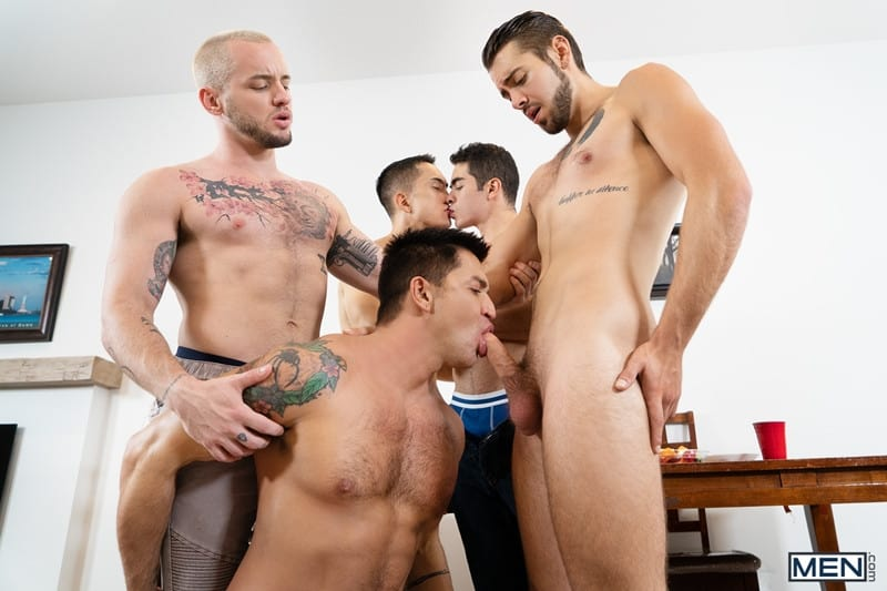 Men for Men Blog Cazden-Hunter-Dante-Colle-Colton-Grey-Dominic-Pacifico-Marcus-Tresor-Gay-group-orgy-Men-009-gay-porn-pictures-gallery Gay group orgy with Cazden Hunter, Dante Colle, Colton Grey, Dominic Pacifico and Marcus Tresor Men
