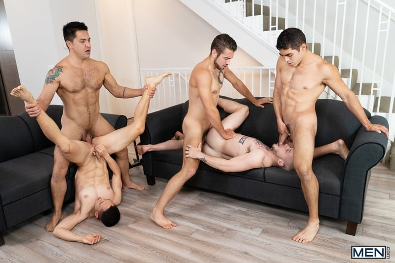Men for Men Blog Cazden-Hunter-Dante-Colle-Colton-Grey-Dominic-Pacifico-Marcus-Tresor-Gay-group-orgy-Men-016-gay-porn-pictures-gallery Gay group orgy with Cazden Hunter, Dante Colle, Colton Grey, Dominic Pacifico and Marcus Tresor Men