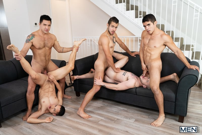 Men for Men Blog Cazden-Hunter-Dante-Colle-Colton-Grey-Dominic-Pacifico-Marcus-Tresor-Gay-group-orgy-Men-018-gay-porn-pictures-gallery Gay group orgy with Cazden Hunter, Dante Colle, Colton Grey, Dominic Pacifico and Marcus Tresor Men
