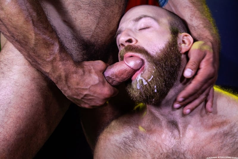 Men for Men Blog James-Stevens-Drake-Masters-hot-tattooed-big-muscle-dudes-cocksucking-huge-throbbing-cock-RagingStallion-014-gay-porn-pictures-gallery James Stevens loves the way Drake Masters' mouth feels wrapped around his huge throbbing cock Raging Stallion