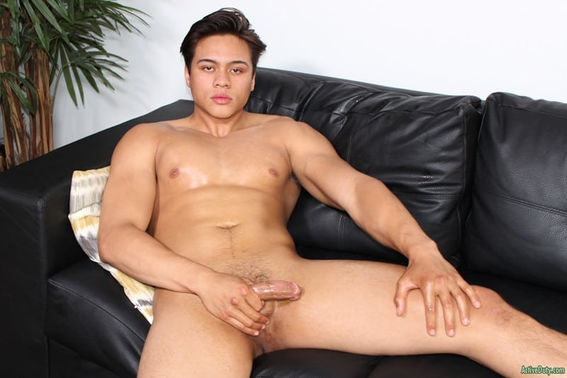 Men for Men Blog Leo-Walker-strips-naked-smooth-ass-stroking-huge-young-cock-massive-cum-load-ActiveDuty-014-gay-porn-pictures-gallery Leo Walker strips naked showing off his smooth ass stroking his huge young cock to a massive cum load Active Duty