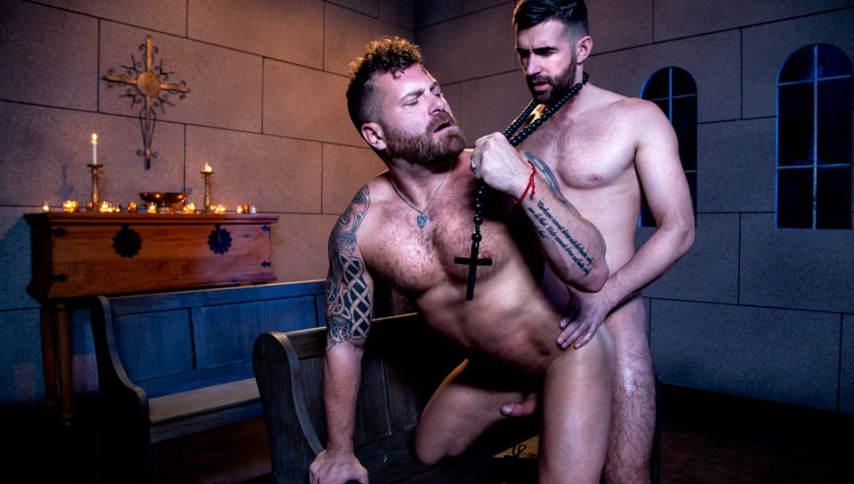 Men for Men Blog 74569_02_01 Father Woody Fox's huge cock fucks Riley Mitchel's hot muscle ass Raging Stallion