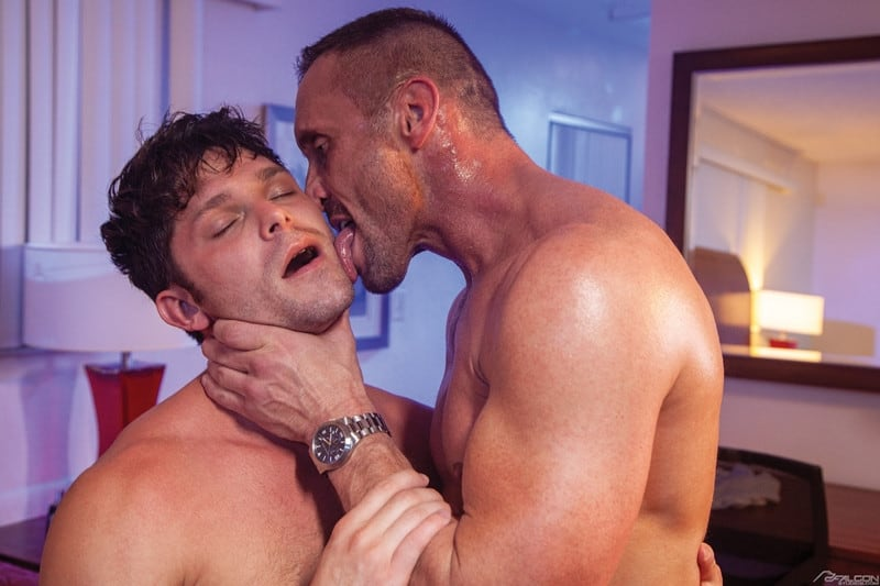 Men for Men Blog Myles-Landon-Devin-Franco-big-raw-dick-deep-smooth-muscle-ass-male-cocksuckers-FalconStudios-006-gay-porn-pics-gallery Myles Landon slides his big raw dick deep into Devin Franco's smooth muscle ass Falcon Studios