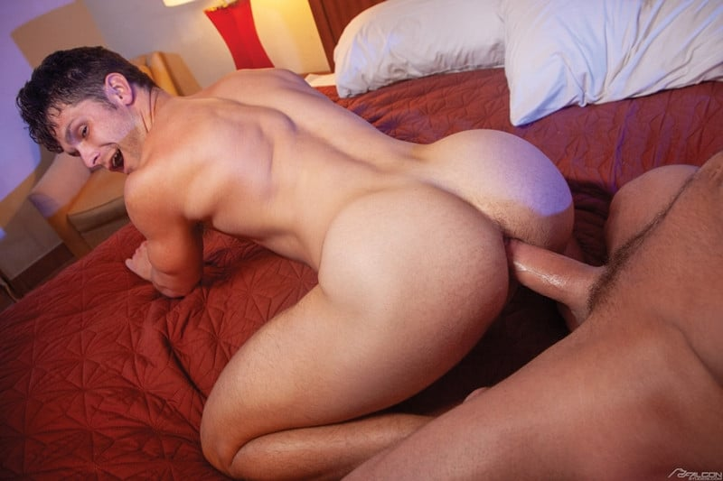 Men for Men Blog Myles-Landon-Devin-Franco-big-raw-dick-deep-smooth-muscle-ass-male-cocksuckers-FalconStudios-009-gay-porn-pics-gallery Myles Landon slides his big raw dick deep into Devin Franco's smooth muscle ass Falcon Studios