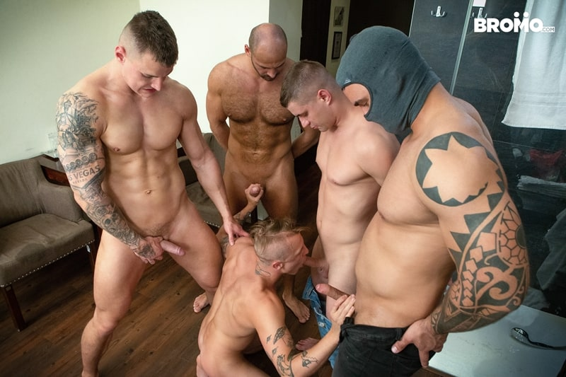 Bromo-Hot-naked-sub-dude-four-masked-men-bareback-fucking-ass-holes-011-gay-porn-pictures-gallery